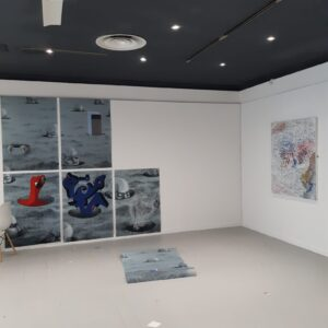install image showing Yves work and its collaborations